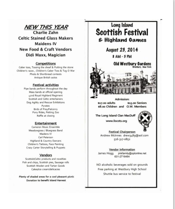 """Old Westbury Gardens Events: Gaelic Society On Twitter: """"this Sat. 8/23rd 8-5PM @ Old"""