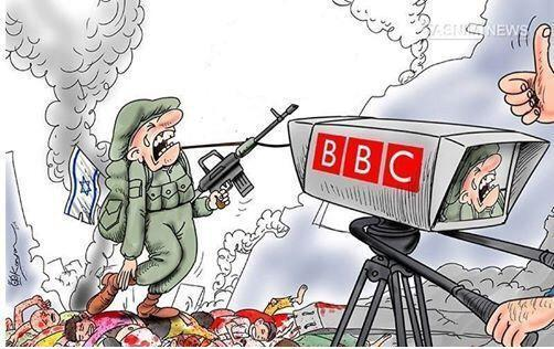 Image result for BBC ZIONIST CARTOON