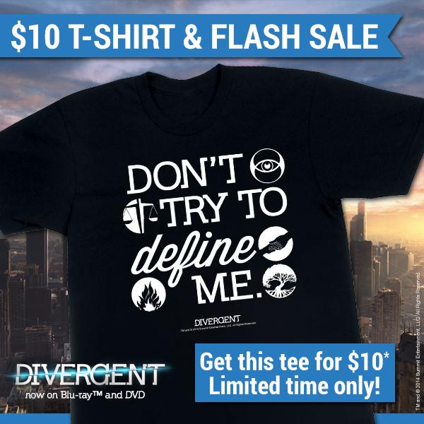 Get this exclusive Divergent tee 4 $10 plus 20% off the marketplace w/ code: DIVERGENT' Here: http://t.co/29059u4DI2 http://t.co/Nt0MVdAcqq