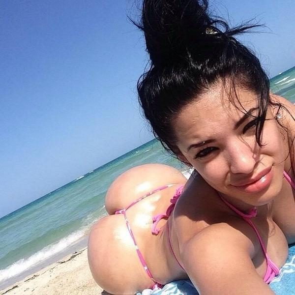 Beautiful latina ass video