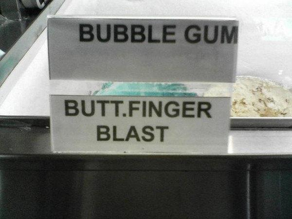 Um…The bubble gum, please. http://t.co/89NMV0iAH5