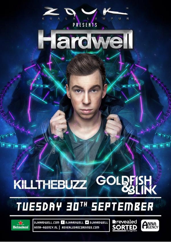 Yes!!! Looks who's coming to @zoukclubkl Big Boss / #1 @HARDWELL September 30th BAM!!!! http://t.co/jWHo0UBc5J