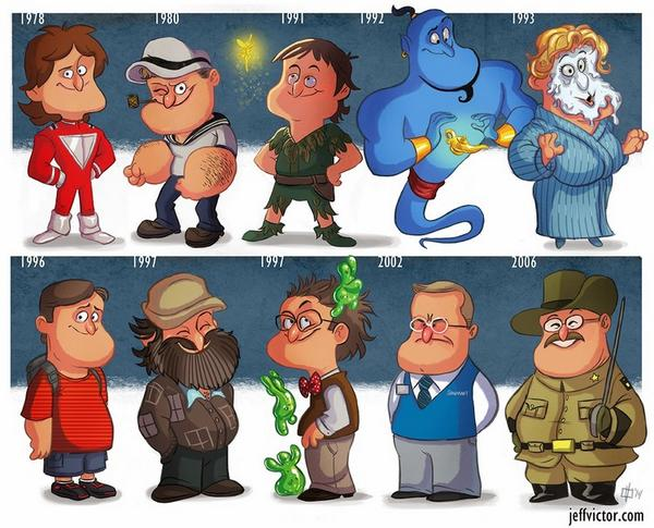 Robin Williams Tribute Art by Jeff Victor — GeekTyrant http://t.co/09QSkQFA0x via @GeekTyrant http://t.co/bBsBncTEep