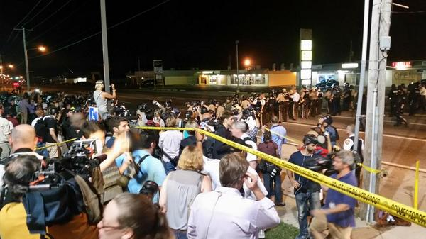 Thumbnail for Photos by CNN reporters in Ferguson, MO
