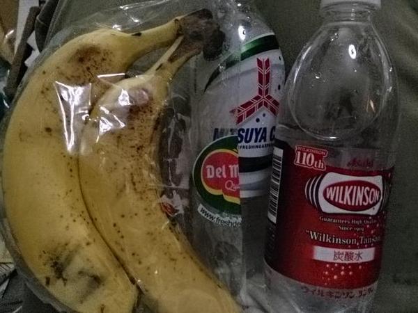 スプライト 吐く バナナ