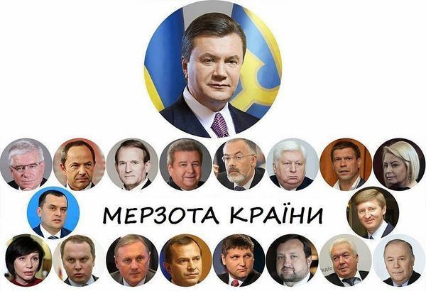 ГПУ не может привлечь к ответственности и арестовать имущество Януковича и тех, кого подозревают в финансировании террористов - Цензор.НЕТ 2362