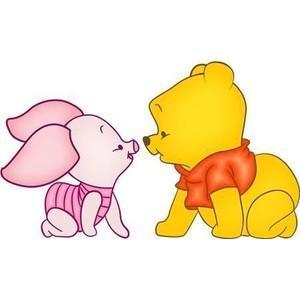 """""""A veces las cosas más pequeñas ocupan más espacio en tu corazón."""" Piglet"""