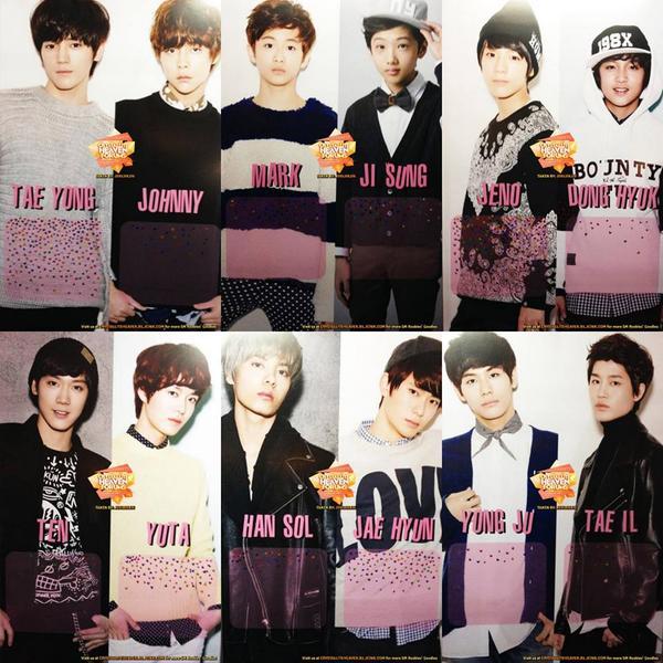 """Rayo On Twitter: """"Tae Yong, Johnny, Mark, Ji Sung, Jeno"""