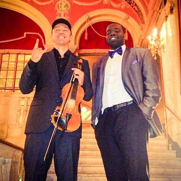 Catch me this season on @ESPN's Sunday NFL Countdown! #TheJourney #Blessed with violinist @joshvietti http://t.co/6AXVjyxDVg