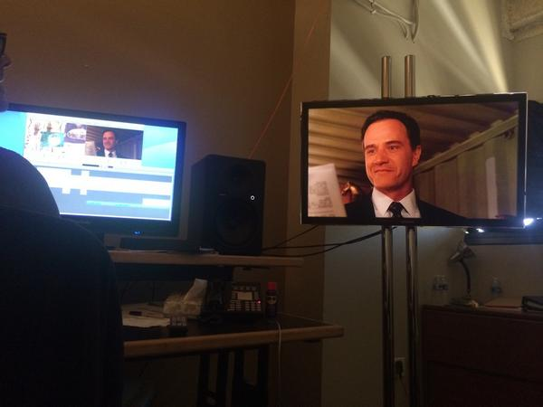And editing working on #WhiteCollar  series finale http://t.co/3zbOCoQ4Jx