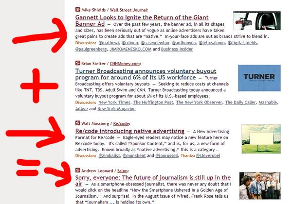 The future of #journalism, in one screenshot from @mediagazer http://t.co/PsAtkhDcbp