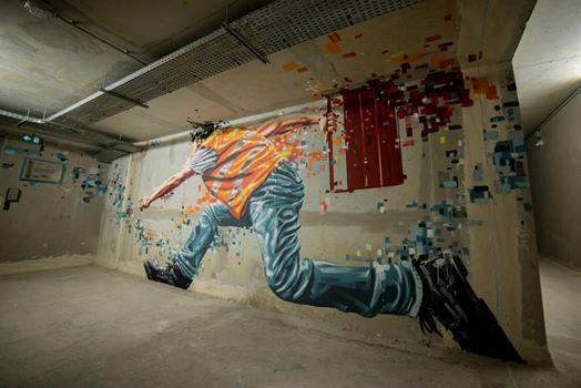 Street Art Avenue On Twitter Decouverte Du Soir Ratur X