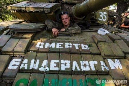 Российские военнослужащие и террористы готовятся к приезду представителей ОБСЕ в Новоазовск - прячут свою новую технику, - СНБО - Цензор.НЕТ 8556