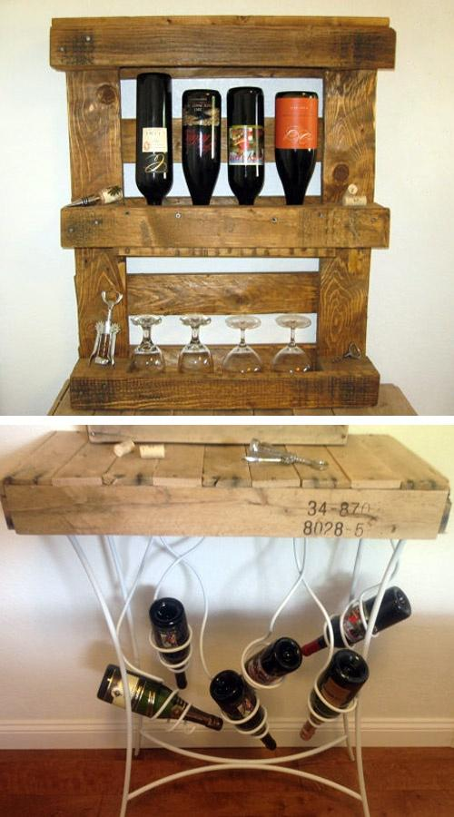 Pallets muebles on twitter ideas para poner botellas - Palet reciclado muebles ...