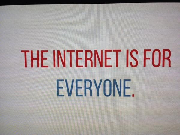 Don't be ageist. @jenleereeves says the internet is for everyone #tedxpoynter http://t.co/IiQFWlwzdh