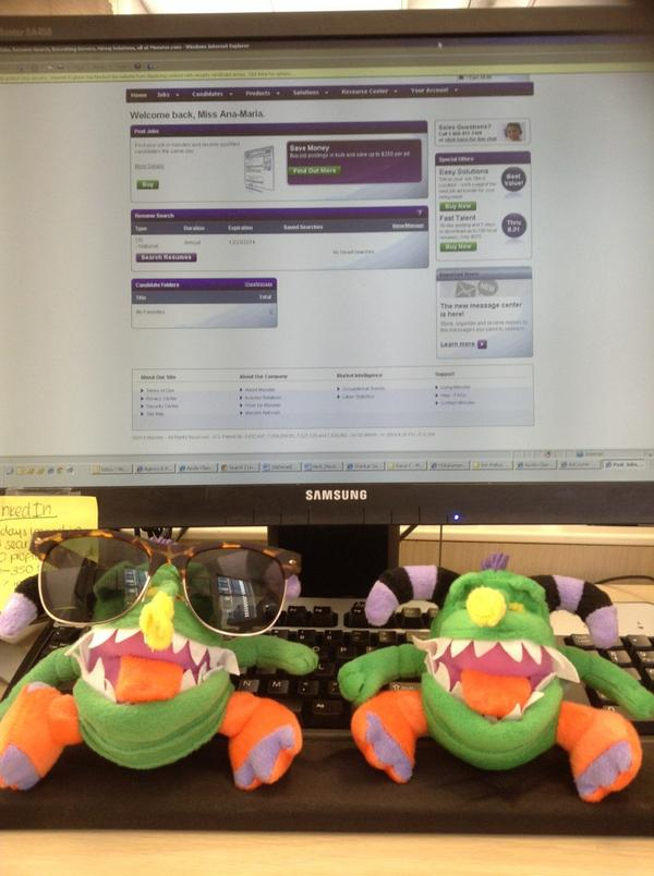 @sthreecareers looking for strong candidates on monster for my meeting with the head of compliance IT at Barclays! http://t.co/P5hNkbSUHt