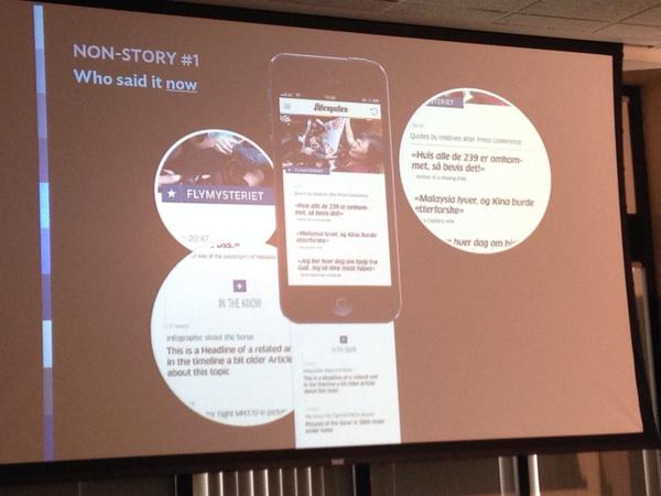 Design stories for mobile, not standard headline>author>story. @DrMarioRGarcia #tedxpoynter http://t.co/OHoPGZBBSD