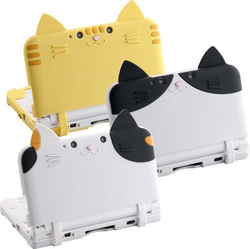3DS LLがネコに変身!「シリコンカバー ねこにゃん DX」発売 ― とら、はち、ミケ、どの柄のネコがお好み? ift.tt/1pEX09M pic.twitter.com/fFrWpsaFrK