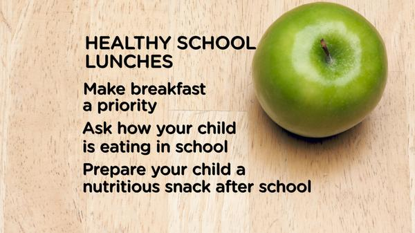 Nutrition is part of a healthy school day! 3 easy tips to remember from @ChildrensTheOne #TakeChargeTV #parenting http://t.co/R4NN6CBsNF