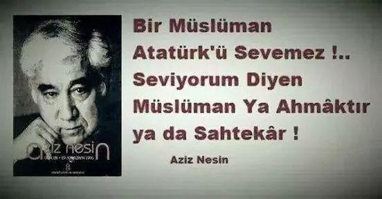 Rüzgarınasi Kızıak On Twitter Bir Müslüman Atatürkü Sevemez