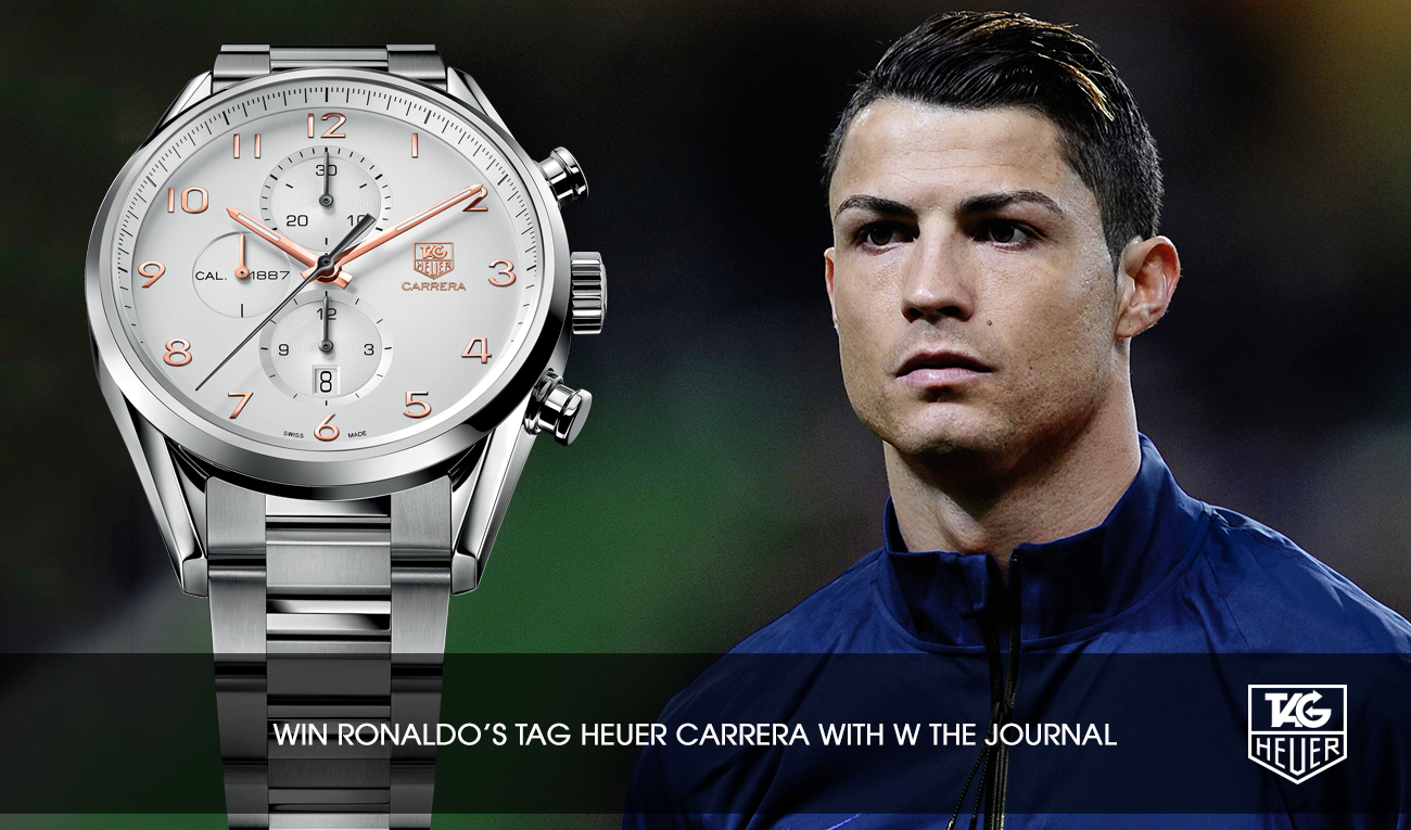 Tag heuer on twitter win a tagheuer chronograph with wthejournal cristiano tagheuer for Cristiano ronaldo tag heuer