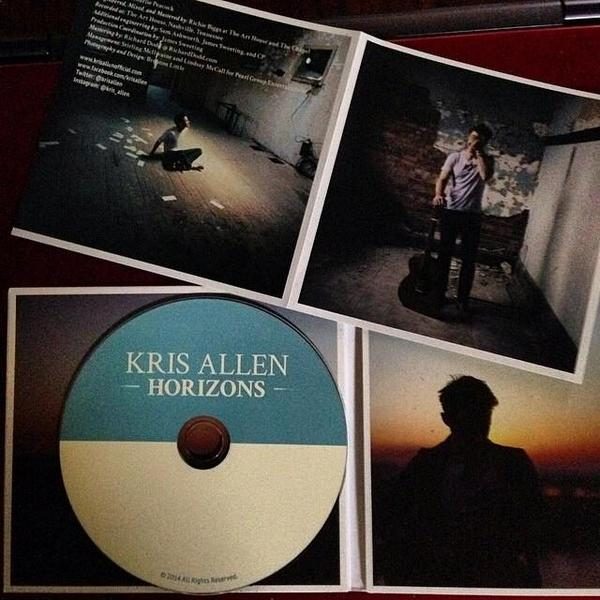 Really enjoying @KrisAllen 's new album #horizons! Great job on it! :) http://t.co/9CAZZQJqUT