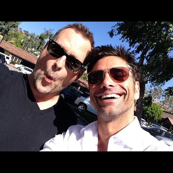 Happy birthday to my handsome brother @JohnStamos - love you. Your brother, Dave. #fullhouse http://t.co/4EvzAeqtnb