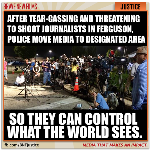 #Ferguson #mediablackout in a nutshell...This kind of treatment is antithetical to the Freedom of the Press. http://t.co/H6P1B4eGtr