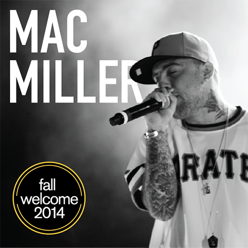 Welcome to campus @MacMiller! We will see you tonight at 8pm (doors at 7pm) in Wells Fargo. #ASUFallWelcome http://t.co/zb5lFUDlQq