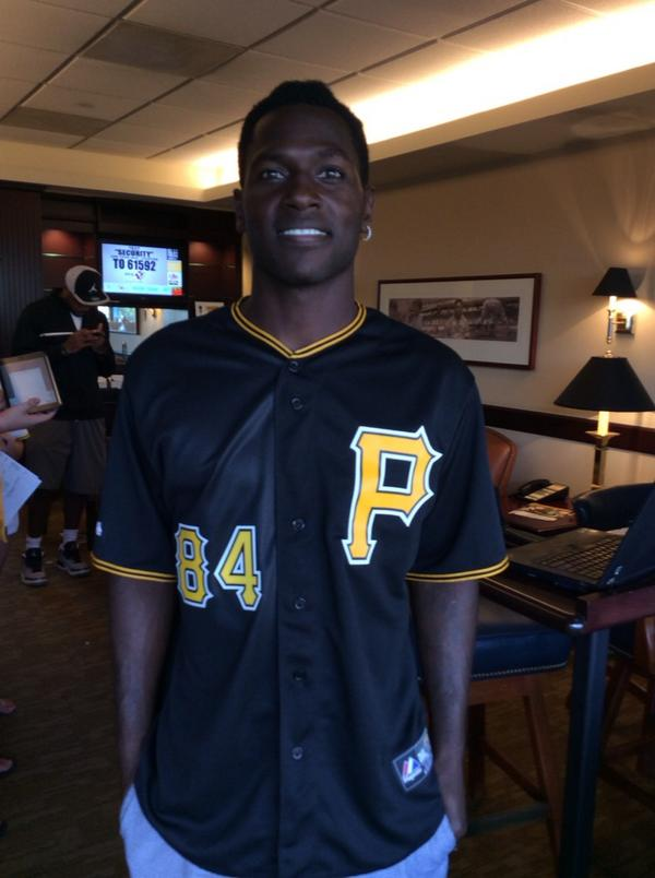 antonio brown pirates jersey