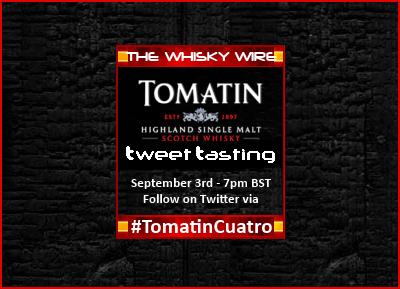Tomatin's #TomatinCuatro 3 September 2014