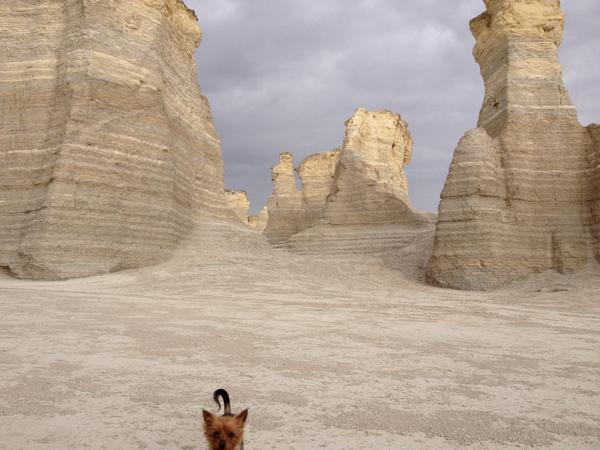 A10: @TravlandLeisure hmmm... Possibility. Exploration. Discovery. Here's a snap from Monument Rocks, KS. #TL_Chat http://t.co/nXezZ8OXtr