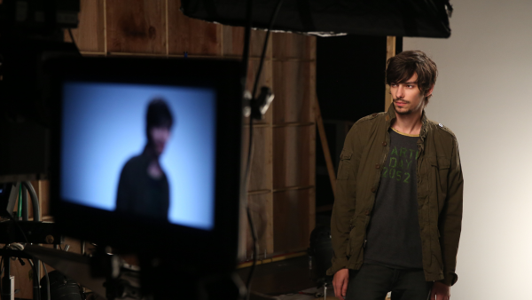 The 100 - Season 2 - BTS Promotional Photo of Devon Bostick