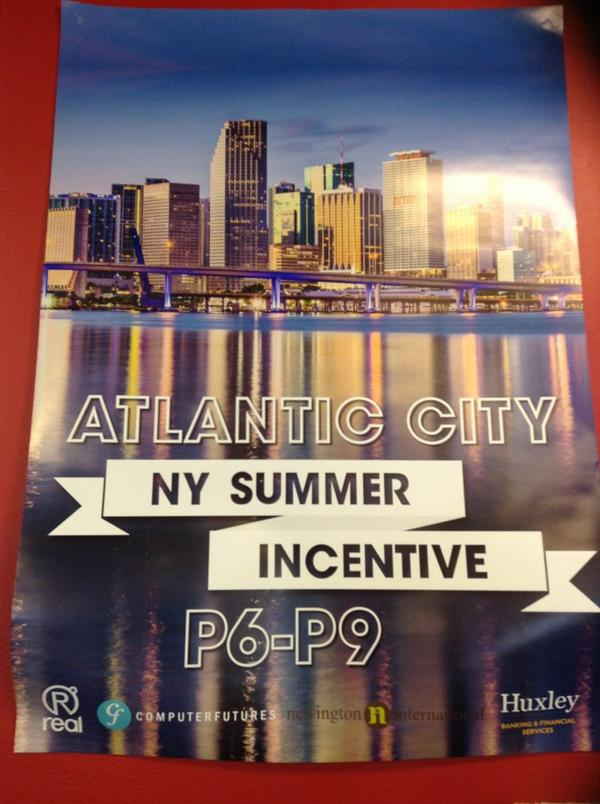 @sthreecareers our team just smashed our targets for an all expense paid trip to AC in September! #workhardplayhard http://t.co/TpXrwqPFLo