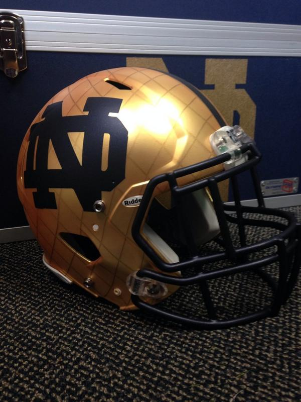 Again...attention to detail #GoIrish http://t.co/TA8raNesN8