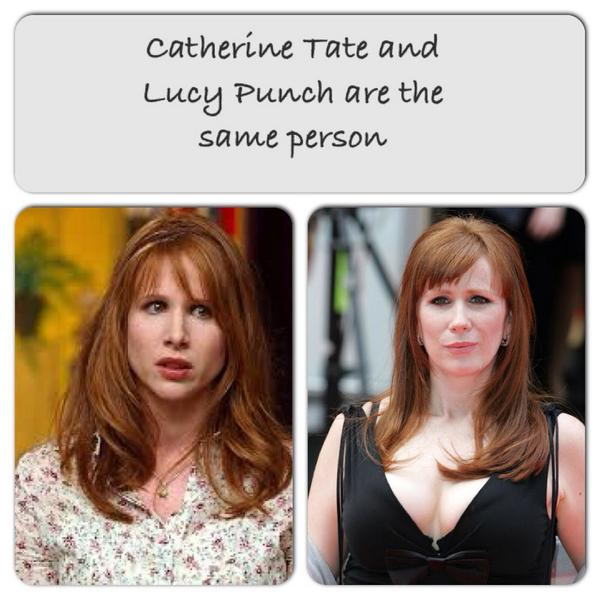 Lucy Punch and catherine tate