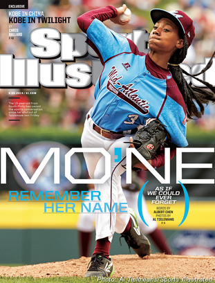 Mo'ne Davis on the cover of @SINow. That's our type of cover girl! http://t.co/fLQWWvoLEk http://t.co/FQxu4k8JjW