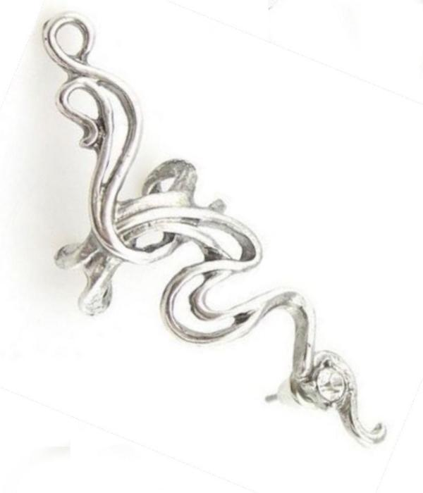 fabulous style ear cuff with rhinestone detail    #gift #earring
