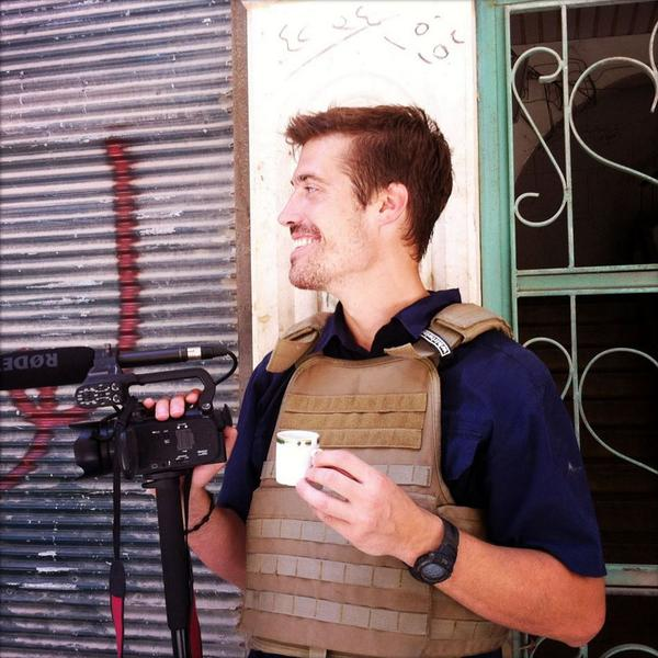 Instead of spreading the image and video of that horrible act, here's James Wright Foley. Remember him and his work. http://t.co/qqVKFx5iz5