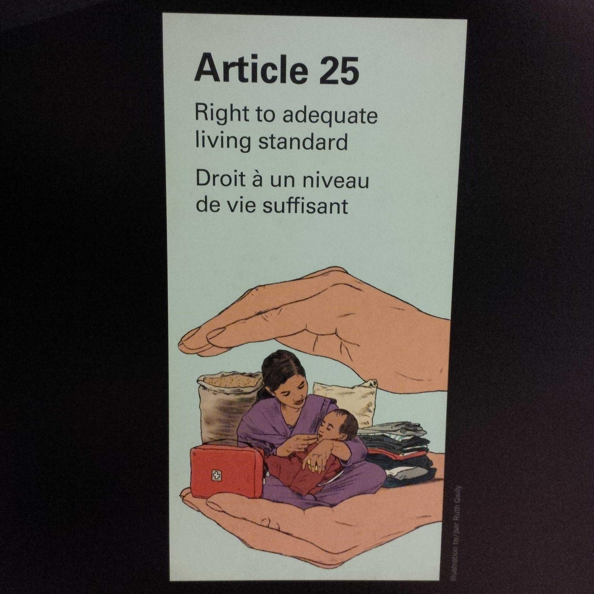 Teaching the Universal Declaration of Human Rights through drawings @CMHR_NEWS Museum opens Sept 20 #winnipeg #travel http://t.co/ONk1fwe1oL