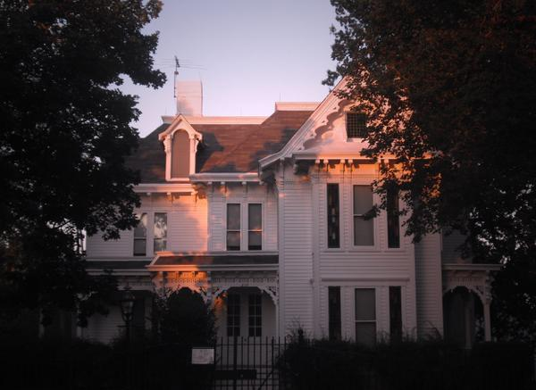 Sunset at the home of President Truman. @GoParks @Interior #POTUS