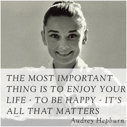 Enjoy your life, be happy. http://t.co/Tn2Dh7bcRI