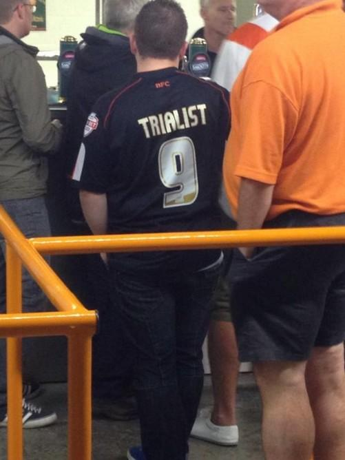 Least Blackpool's fans are keeping their sense if humour http://t.co/AKZIt2Xdwd