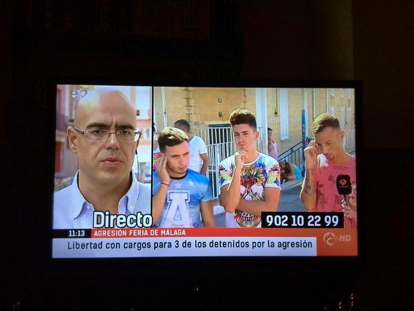 Viola en España; saldrás con una palmadita en el hombro del alcalde, vítores y la TV te dará minutos. http://t.co/cEiDsF7uoP