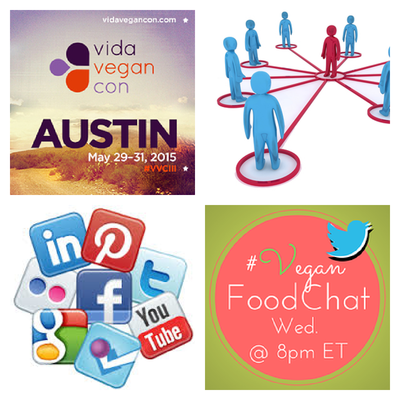 Happy Wednesday! Hope to see you later for #VeganFoodChat at 8pm ET! Topic: Blogging & Media! http://t.co/oAYxr0Hujo http://t.co/sHe0tz15yy