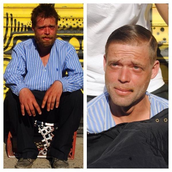 Un peluquero dedica los domingos a cortarles el pelo gratis a los vagabundos de Nueva York http://t.co/0wIJjKbPOt http://t.co/fZeDdOXvTH