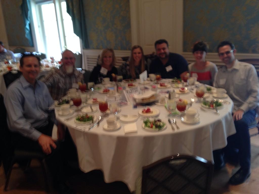 RT @AAFHouston: Say hello to the @Adcetera table at today's luncheon! #AAFHOU http://t.co/Y4LEtuo0ba