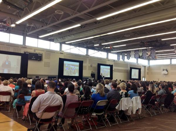 Excited to start the learning for the 2014 school year at #TLDWpeel http://t.co/S8F6idg0UQ