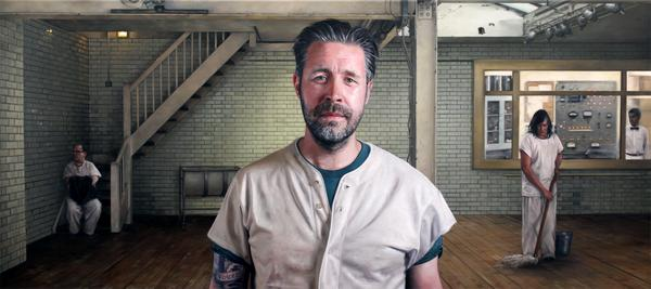 My new painting of @PaddyConsidine as Randle McMurphy from One Flew Over The Cuckoo's Nest, from my series ACT. http://t.co/Wnr8cQARnr