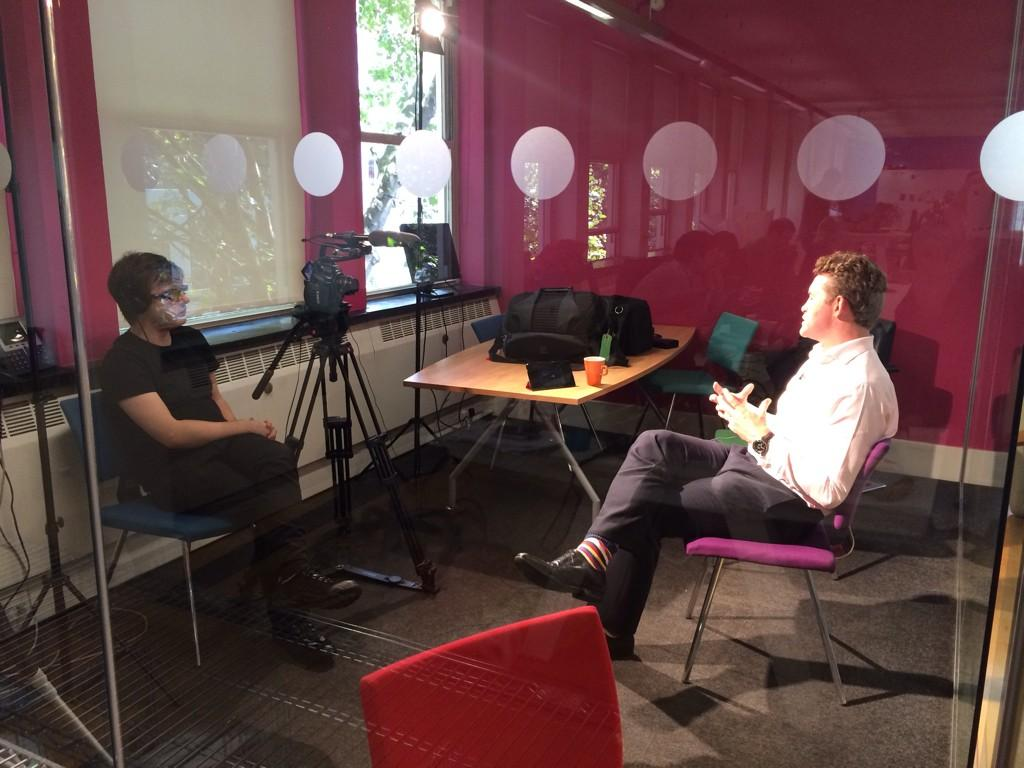 .@steveparkersmg being interviewed by @Beet_TV for the #RoadToDmexco series. Evidently 'he smashed it'. http://t.co/5FsOQSUaqB